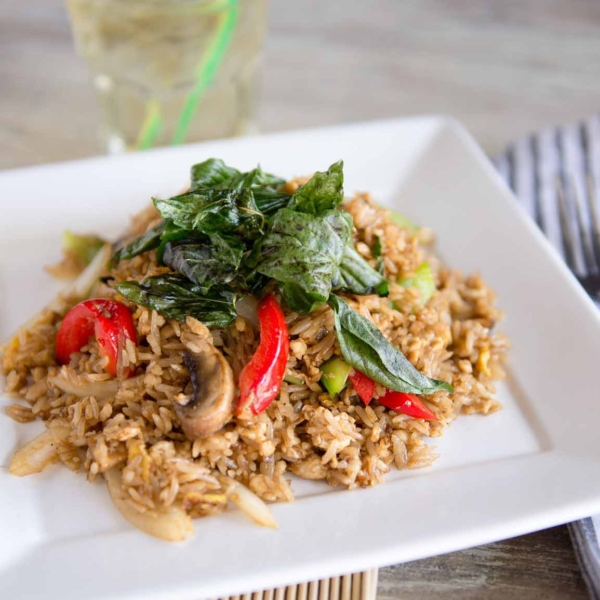 BASIL FRIED RICE (THAI STYLE)