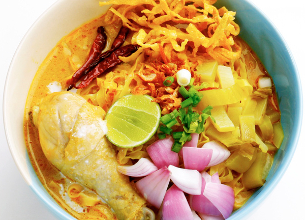 Khao Soi Noodle (Northern Thai Style)